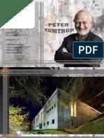 ARQ. Peter Zumthor - Análisis Termas de Vals