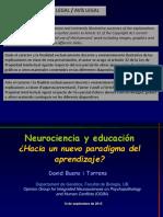 Neurocienciaeducacionhacianuevoparadigmaaprendizaje David Bueno
