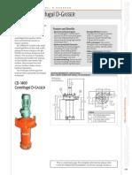 CD 1400 Centrifugal D GASSER