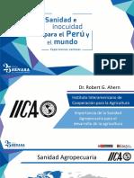 Robert Ahern, Especialista Principal en Sanidad Agropecuaria e Inocuidad de Alimentos del IICA