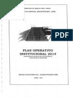 Plan Operativo 2014