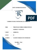 Formas Farmacéuticas Líquidas y Gaseosas INSTITUTO ROOSEVELT