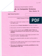 Ph.D - Computer Science - 2015