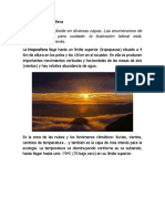 Capas de La Atmósfera y Clima