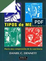 Daniel Dennet_ Tipos de Mentes