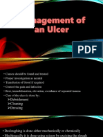 Management of an Ulcer