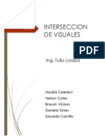 Interseccion de Visuales