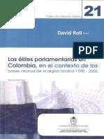 Las Elites Politicas Colombianas