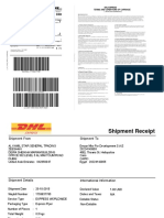 Shipment Document Serv Let
