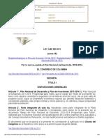 Consulta de La Norma_ley 1450 de 2011