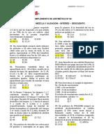 Aritmetica Semana Nº2 Reforzamiento