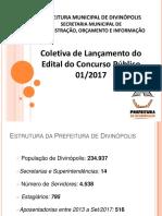 Apresentação Coletiva Lançamento Edital