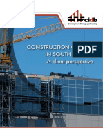 Construction Quality in South Africa - A Client Perspective