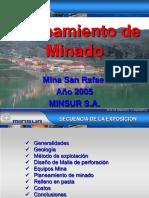 Plan de Minado San Rafael