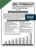 Test Series Leaflet