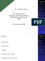 Arboles Algoritmos y estructura de datos