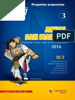 │EC│ ALGEBRA 3 ANUAL BCF - ADUNI 2016