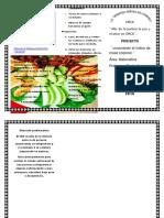 Ensalada de Espinacas Con Frutas y