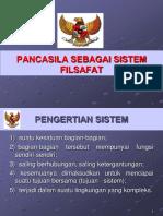 Bab 5 Pancasila Sebagai Sistem Filsafat