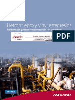 ASHLAND 2012 Hetron Chem Resistance Guide
