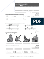Educação musical 6 Ficha avaliacao 1
