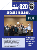 Teamsters Local 320 Fall | Winter Newsletter 2017