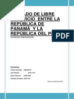 Tratado de Libre Comercio Entre La República de Panamá y La República Del Perú