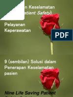 Sajian 1. Manajemen Keselamatan Pasien