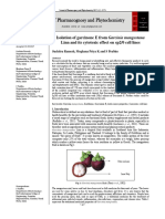 Isolation of Garcinone E From Garcinia Mangostana