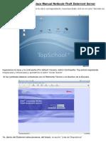 Instructivo de Enlace Manual Netbook-Theft Deterrent Server de Conectar Igualdad