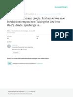 (In)justicia por mano propia_linchamientos en el México contemporáneo.pdf