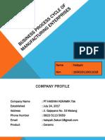 PPT Business Process Cycle PT Haisyah Keramik Tbk
