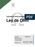 Laboratorio Electromagnetismo