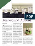 Year-round Advent