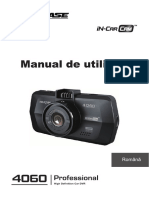 4060 Instruction Manual(Romanian)
