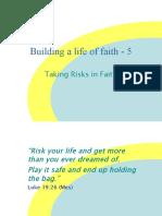 Building a Life of Faith - 6