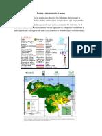 Lectura e Interpretación de Mapas