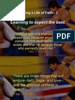 Building a Life of Faith 2