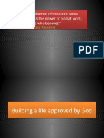 Building a Life Approved by God