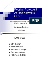 OSLR Routing