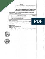 Lima CAS 038-2017 Evaluación de Conocimientos y Habilidades