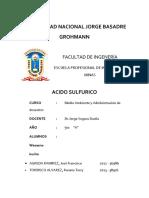 ACIDO-SULFURICO
