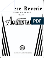 Derniere Reverie - Agustin Lara
