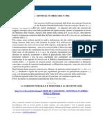 Fisco e Diritto - Corte Di Cassazione n 9964 2010