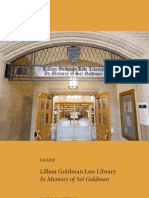 2010 Lillian Goldman Library at Yale Law School Guide