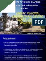 Unidad Regional en Zacatecas