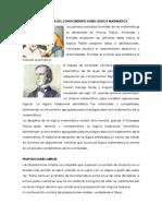 Trayecoria Historica Del Conocimiento Sobre Logica Matematica