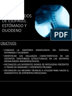 Estudios Contrastados de Esófago, Estómago y Duodeno