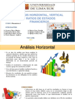 analisis horizontal vertical y ratios financieros