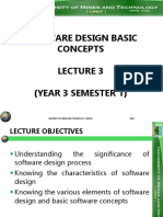 Software Development Lecture 3